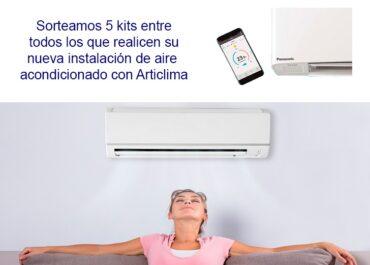 Campaña verano: sorteamos 5 kits Wi-Fi para aire acondicionado en Articlima